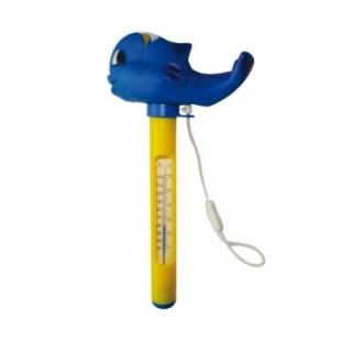 Termometr do basenu - delfin