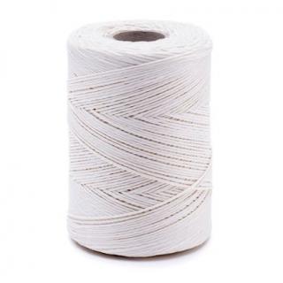 Nić lniana - nabłyszczana, biała - 250g/300m