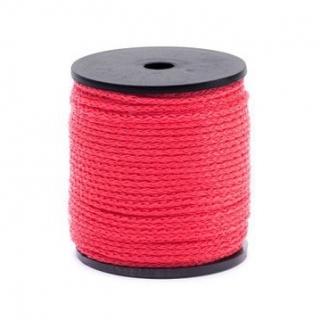 Sznurek techniczny - czerwony - 50m