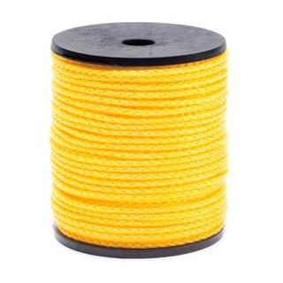 Sznurek techniczny - żółty - 50m