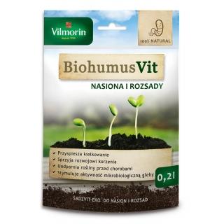 Biohumus VIT -  Zaprawa do nasion i rozsad SADZVIT EKO - Vilmorin - 0,2 l