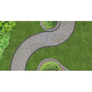 Obrzeże ogrodowe UNIBORD z kotwami montażowymi - 4m - CELLFAST