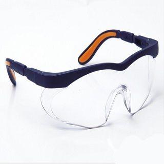 Okulary ochronne przeciwodpryskowe ze szkłami z poliwęglanu - Sahara