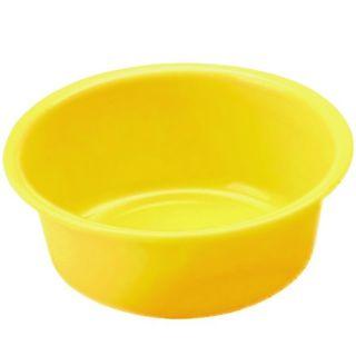 Miska okrągła - śr. 28 cm - żółta