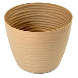 Osłonka okrągła Sahara petit - 11 cm - cafe latte