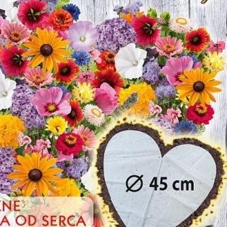 Dzikość Serca - mata w kształcie serca - mieszanka z dodatkiem heliotropu o zapachu czekolady