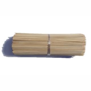 Patyczki z bambusa obrabianego - brązowe - 60 cm - 10 szt.