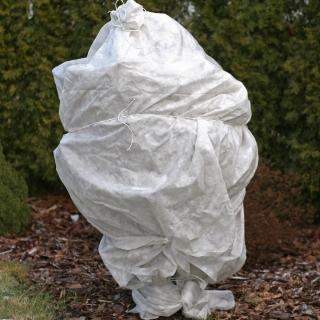 Agrowłóknina zimowa - biała - chroni rośliny przed mrozem - 0,80 x 10,00 m