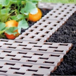 Kratka chodnikowa, podłogowa - Pad - idealna do ogrodu - 0,95 m2 - brązowa