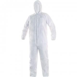 Kombinezon ochronny biały rozmiar XL