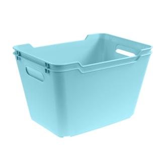 Pojemnik do przechowywania - Lotta - 6 litrów - wodny niebieski