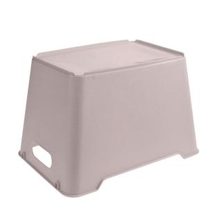 Pojemnik do przechowywania - Lotta - 20 litrów - miejski szary