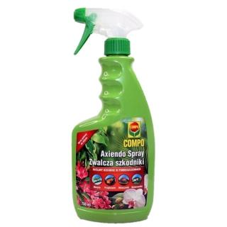 Axiendo Spray - Zwalczający szkodniki roślin ozdobnych w pomieszczeniach - Compo - 750 ml