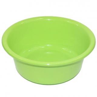 Miska okrągła - śr. 24 cm - zielona