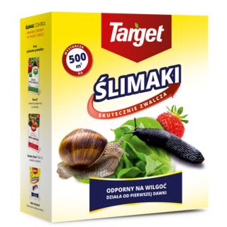 Ślimak Control - zwalcza ślimaki - odporny na wilgoć i deszcz - Target - 1 kg