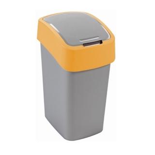 Kosz do sortowania śmieci Flip Bin - 10 litrów - żółty