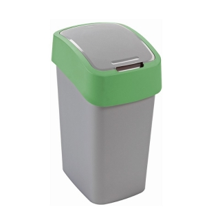 Kosz do sortowania śmieci Flip Bin - 10 litrów - zielony