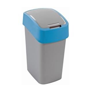Kosz do sortowania śmieci Flip Bin - 10 litrów - niebieski