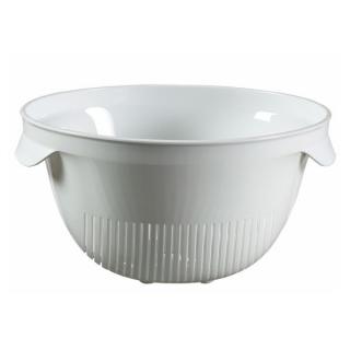 Cedzak okrągły - biały