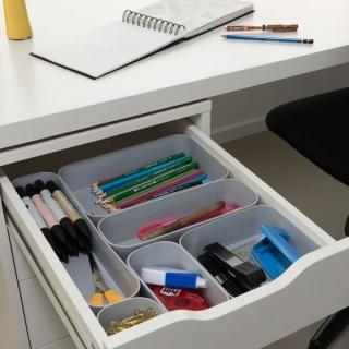 Organizer do szuflady - Infinity S - 0,45 litra - jasny szary