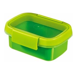 Pojemnik na żywność prostokątny - Smart To Go Snack - 0,2 litra - zielony