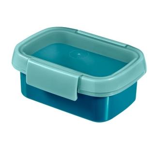 Pojemnik na żywność prostokątny - Smart To Go Snack - 0,2 litra - niebieski