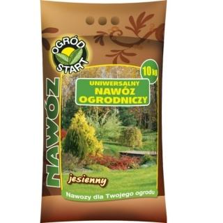Jesienny nawóz ogrodniczy - Uniwersalny - Ogród-Start - 10 kg