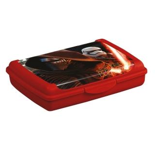 Pojemnik do przechowywania - Olek 'Star Wars' - 0,5 litra - czerwony calcutta