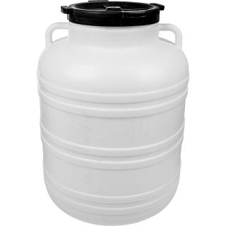Beczka z uchwytami na kapustę i ogórki - 60 litrów