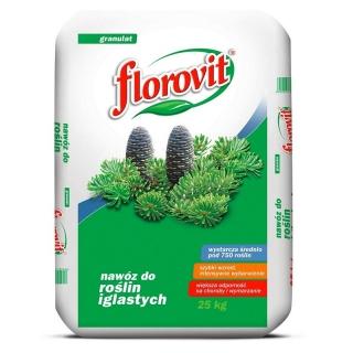 Nawóz do iglaków - zwiększa odporność na choroby i mróz - Florovit - 25 kg