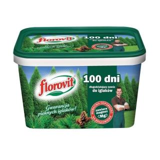 Długodziałający nawóz do iglaków - 100 dni - Florovit - 4 kg