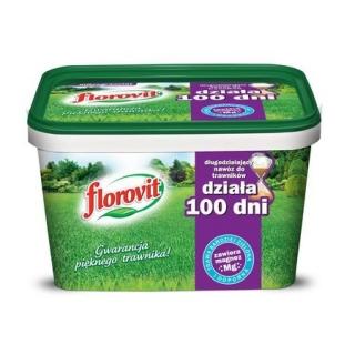 Długodziałający nawóz do trawników - 100 dni - Florovit - 4 kg