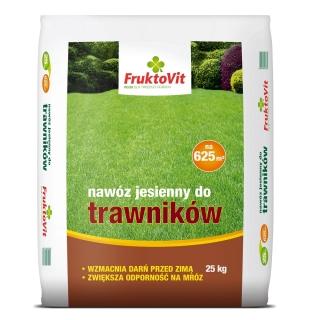 Nawóz jesienny do trawników - Fruktovit - 25 kg
