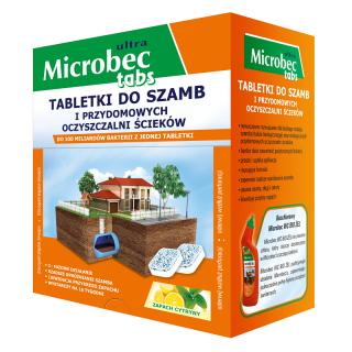 Bros - Microbec Ultra - Preparat do szamb - 1 tabletka