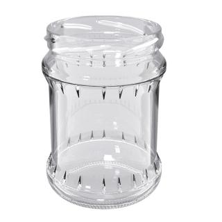 Słoje zakręcane szklane, słoiki - fi 82 - 500 ml - 8 szt.