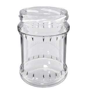 Słoje zakręcane szklane, słoiki - fi 82 - 500 ml + zakrętki białe - 8 szt.