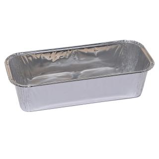Foremka aluminiowa do pieczenia - podłużna - do keksów, rolad i piernika - 985 ml - 5 szt.