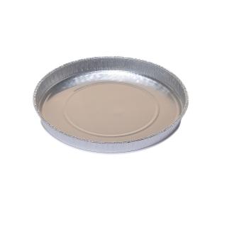Foremka aluminiowa do pieczenia - okrągła - do pizzy i pizzerinek  - 600 ml - 5 szt.