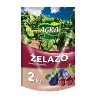 Siarczan żelaza - żelazo antymech, zwalcza mech na trawnikach - Agra - 2 kg