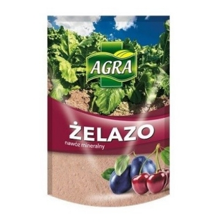 Siarczan żelaza - żelazo antymech, zwalcza mech na trawnikach - Agra - 5 kg