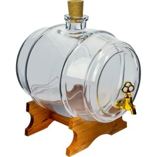 Beczułka na nalewki i inne napoje - Sto Lat - bezbarwna - 5 litrów