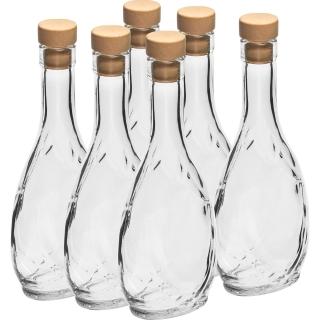 Butelka Herbowa z korkiem 250 ml - 6 szt.