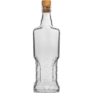Butelka Kredensowa z korkiem - 500 ml
