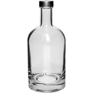 Butelka Miss Barku z zakrętką - biała - 500 ml