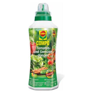 Nawóz mineralny do pomidorów i innych warzyw - Compo - 1 l
