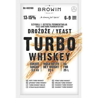 Drożdże gorzelnicze Turbo - Whiskey - 23 g