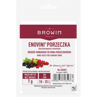 Drożdże suszone do wina porzeczkowego - Enovini - 7 g