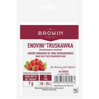 Drożdże suszone do wina truskawkowego - Enovini - 7 g