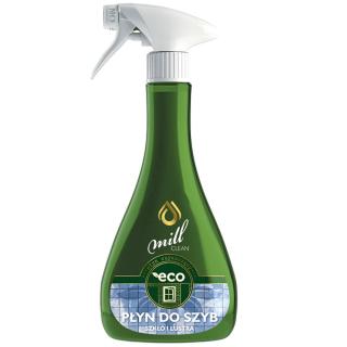 ECO Płyn czyszczący do szyb - szkło i lustra - Mill Clean - 555 ml