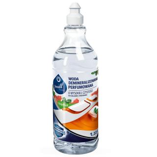 ECO Woda demineralizowana o wysokiej czystości - zapach grejpfruta - idealna do żelazek, parownic - Mill Clean - 1,22 l